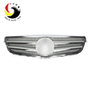 Benz C Class W204 C63 Style 07-14 Chrome Silver 2-Fin Front Grille