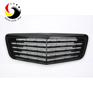 Benz E Class W211 05-08 Gloss Black OEM Front Grille