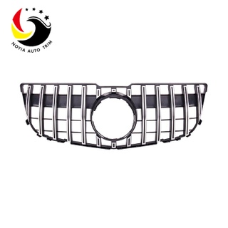 Benz GLK Class X204 13-15 GTR Style Chrome Silver Front Grille