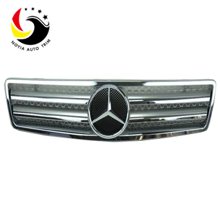 Benz SL Class W129 AMG Style 90-02 Chrome Silver 2- Fin Front Grille