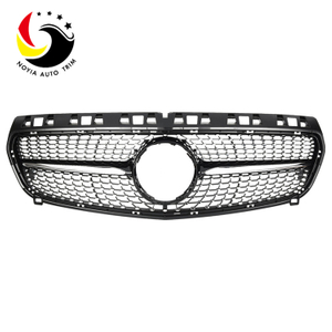 Benz A Class W176 Diamonds 13-15 Chrome Black Front Grille