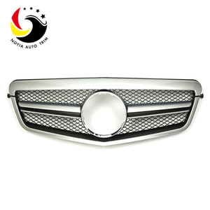 Benz E Class W212 E63 Style 10-13 Silver Front Grille