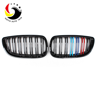 Bmw 3 Series E92/E93 06-09 2-Slat Glossy M Colour Front Grille