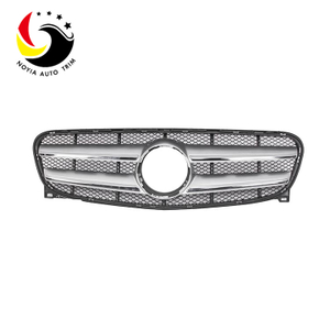 Benz GLA Class X156 13-15 Original Style Silver Front Grille