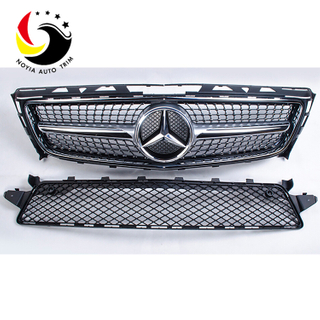 Benz CLS Class W218 CLS350 Diamonds 1-Pin Front Grille