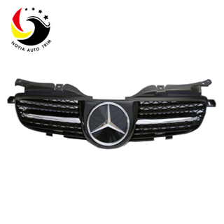 Benz SLK Class W170 Sport Style 98-04 Matte Black Front Grille