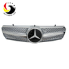 Benz E Class W215 AMG Style 00-06 Silver 1-Fin Front Grille