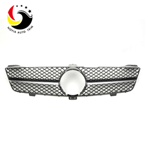 Benz CLS Class W219 AMG Style 08-11 Chrome Black 1-Fin Front Grille