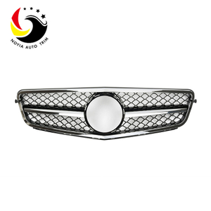 Benz C Class W204 C63 Style 07-14 Chrome Black 1-Fin Front Grille