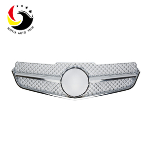 Benz E Class W207 AMG Style 10-13 Chrome 1-Fin Front Grille