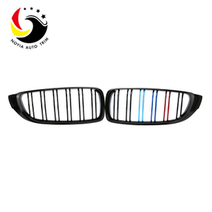 Bmw 4 Series F32/F33/F36/F80/F82/F83 14-IN 2-Slat Glossy M Colour Front Grille