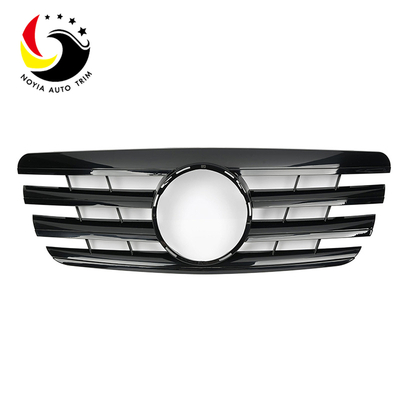 Benz E Class W210 AMG Style 00-02 Gloss Black 2-Fin Front Grille