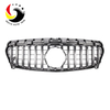 Benz CLA Class W117 GTR STYLE 16-IN Chrome Silver Front Grille