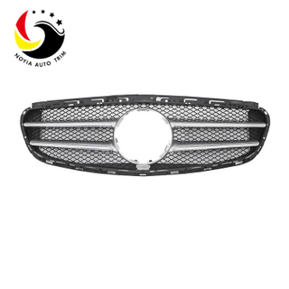 Benz E Class W212 13-15 Original Style 2-FIN Silver Front Grille