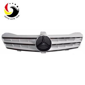 Benz CLS Class W219 AMG Style 06-08 Silver 3-Fin Front Grille