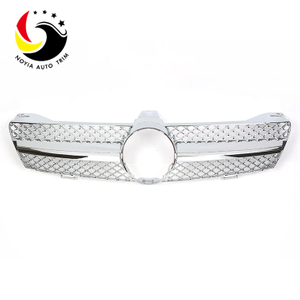 Benz CLS Class W219 AMG Style 04-07 Chrome 1-Fin Front Grille