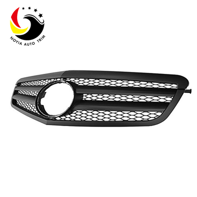 Benz E Class W212 AMG Style 09-10 Matte Black 2-Fin Front Grille