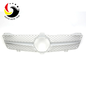 Benz CLS Class W219 AMG Style 08-11 Silver Front Grille
