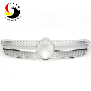 Benz CLS Class W219 AMG Style 04-07 Silver 1-Fin Front Grille