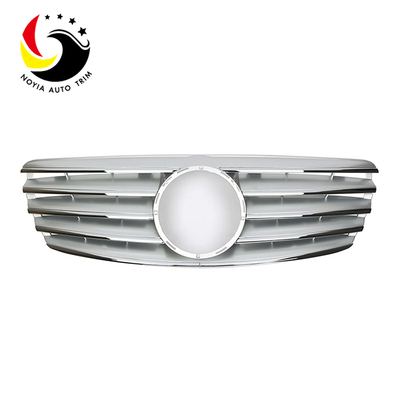 Benz E Class W211 Sport Style 03-06 Silver Front Grille