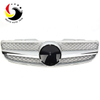 Benz SL Class R230 AMG Style 07-09 Silver 1-Fin Front Grille
